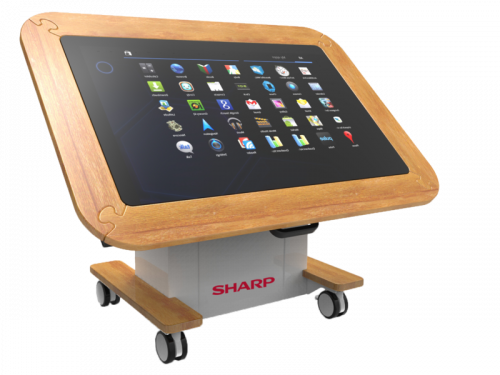 Sharp Interactive Touchscreen Table: Meet UP - Care Home Edition 18