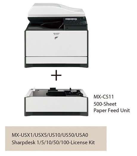 Sharp MX-C300W 7