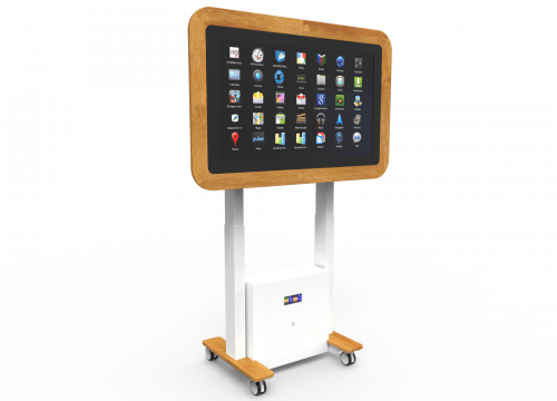 Sharp Interactive Touchscreen Table: Meet UP - Care Home Edition 2