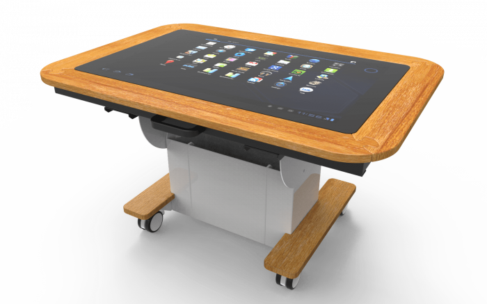 Sharp Interactive Touchscreen Table: Meet UP - Care Home Edition 4