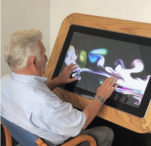 Sharp Interactive Touchscreen Table: Meet UP - Care Home Edition 6