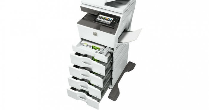 sharp mx-c303w-paper-trays