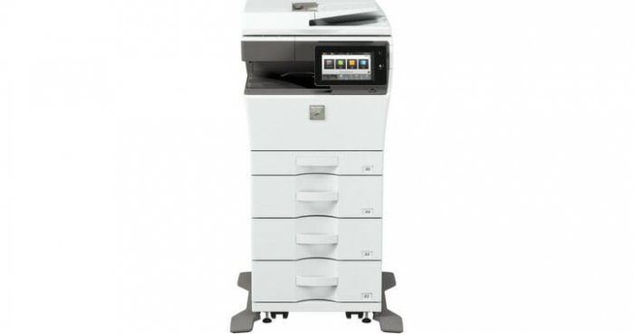 sharp mx-c303w-paper