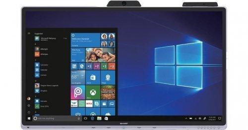Windows collaboration display